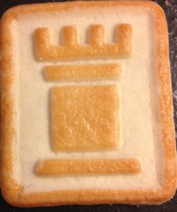 The Chessman Cookie - It's What's For Breakfast!