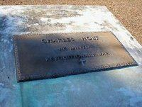 Marker for Charles Holt, Dave's Maternal Great(x8) Grandfather and Revolutionary War Soldier